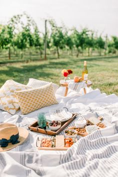 Photography : Sarah Pascutti Photography Read More on SMP: http://www.stylemepretty.com/2016/09/24/the-sweetest-picnic-proposal/