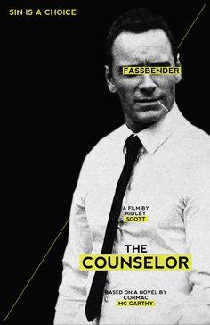 The Counselor - Alternative Movie Posters by Rolando Miguel Soberón, via Behance