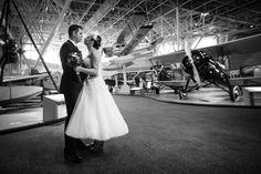 Wedding - Museum of aviation - Ottawa Ontario, Canada