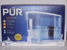 PUR Classic with Maxion Filter 18 Cup Dispenser DS-1800Z #PUR
