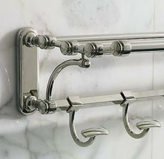 bathroom restoration hardware train rack hepburn interiors indianapolis