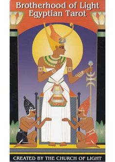 Exploring the relationship between the Tarot, Kabala, astrology, and numerology, this fantastic tarot deck combines these qualities with symbolism born of Ancient Egypt. Originally designed in 1936, they were created in a black and white design.