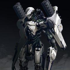 Juggernaut Exo Armor concept