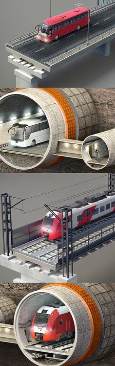 Russian Railways by Vladimir Andreev, via Behance