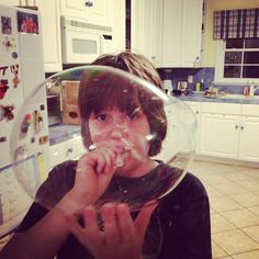 Throwing Marshmallows - homeschooling RB kids