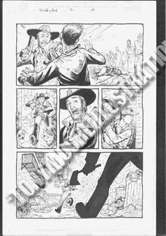 Original Walking Dead artist Tony Moore.
