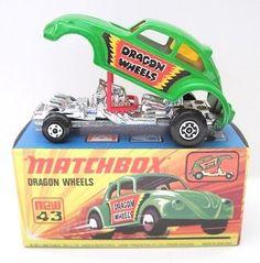 Matchbox Superfast No 43b Dragon Wheels ..OTRO QUE FUE DE MIS FAVORITOS EN MI PRIMER COLECCIÓN..