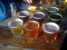 Get the beer sampler and a Bad Ass Pizza at the Brewery in South Lake Tahoe. Eat on the outside deck. Read more at http://www.7x7.com/tahoe/50-things-do-tahoe-summer#a5vPwhU4Q8RBXkQO.99
