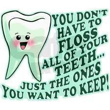 Listen to your dental hygienist :)