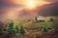 Sunrise - sunrise in Apuseni Mountains