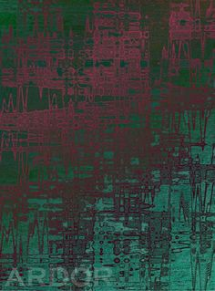 STONE / Turquise pink green