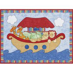 Noah's Ark Quilt... cute