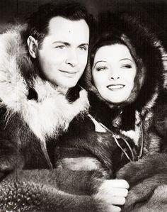 "Robert Montgomery and Myrna Loy in ""Petticoat Fever"", (1936)"