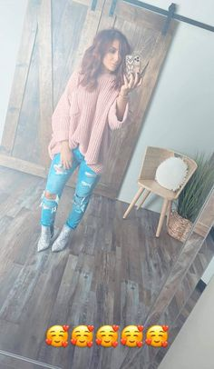 Cute Fall Outfits, Warm Outfits, Winter Fashion Outfits, Fall Winter Outfits, Cute Fashion, Autumn Fashion, Winter Clothes, Love Her Style, Looks Style