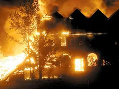 Another fire in the Catskills. The Heiden Hotel goes down in flames.