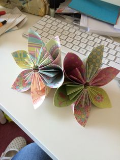 Homemade paper flowers fun diy projects for kids families paper flowers i made mightylinksfo