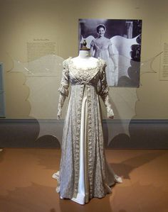 "The ""Wings"" dress from Ever After. Made with piano strings.  I'd love to make these some how!"