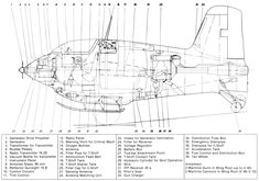 Messerschmitt Me-163 cross-section