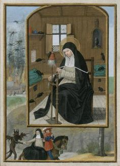 Do you know that today, the of March, is the day of St.Gertrude of Nivelles, patron saint of cats?