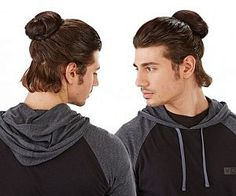 Clip-On Man Bun... really?? Just why??