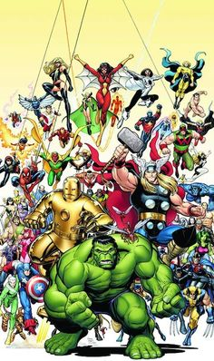 Marvel Universe - Avengers by Arthur Adams