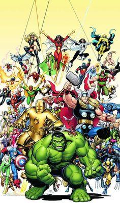 Marvel Universe - Avengers by Arthur Adams