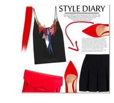 """""""Untitled #1066"""" by samha ❤ liked on Polyvore featuring Alexander Wang, Givenchy, Gianvito Rossi and Christopher Kane"""