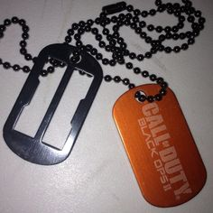 Call Of Duty Black Ops 2 Dog Tags