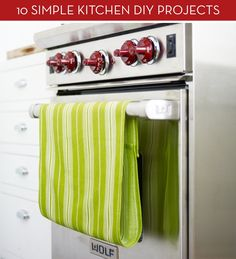 10 Genius (And Attractive) DIY Projects For Your Kitchen