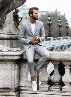 Mens Fashion Smart – The World of Mens Fashion Mens Fashion Blog, Mens Fashion Suits, Mens Suits, Men's Fashion, Fashion Tips, Daily Fashion, Feminine Fashion, Street Fashion, Casual Suit