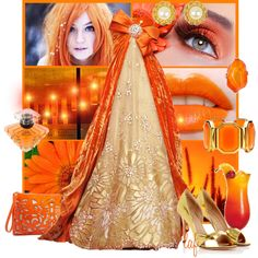 Orange Crush by lois-boyce-flack on Polyvore