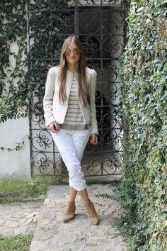 143 meilleures images du tableau Pantalon 7 8e   Mode femme, Tenues ... ed7fc8166f3