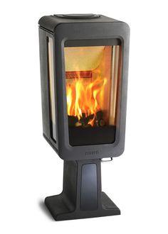 Braskaminer i täljsten eller gjutjärn. Stove Fireplace, Home Appliances, Wood, Inspiration, Design, Home Decor, Stoves, Fireplaces, Products