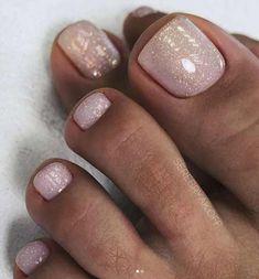 Gel Toe Nails, Feet Nails, My Nails, Acrylic Nails, Gel Toes, Pretty Toe Nails, Cute Toe Nails, Toe Nail Color, Nail Colors