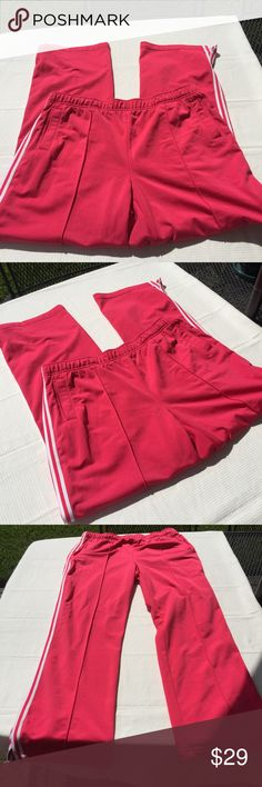BCG XXL jogging pants red women's polyester BCG XXL jogging pants. Red with white on the side. 100 % polyester. Made in Kenya. Pre owned in good condition. Women's Ladies Fashion. Check out my closet, we have a variety of women's, Victoria Secret, handbags 👜 purse 👛 Aerosoles, shoes 👠fashion jewelry, necklace, clothing, dress, Beauty, home 🏡 .  Ships via USPS. Smoke & Pet-Free. Offers 30% OFF bundle discount. Always a FREE GIFT 🎁 with every purchase!!! Thank you. bcg Pants Track Pants…