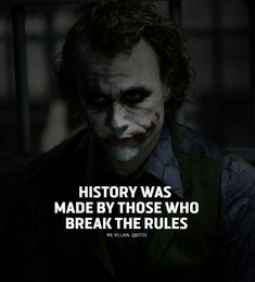 23 Joker quotes that will make you love him more Motivational Quotes to Change You in Better Person Brain Hack Quotes- Joker Qoutes, Best Joker Quotes, Badass Quotes, Heath Ledger Joker Quotes, Joker Heath, True Quotes, Motivational Quotes, Inspirational Quotes, Quotes Quotes