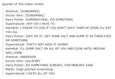 The fandoms worry about what to do with Sherlock and Doctor Who. It's not going well.