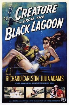 October 9th - Creature for the Black Lagoon (1954)