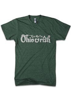 Kiss me I'm Oh-Irish