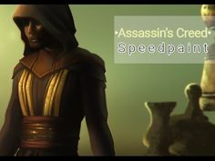 Assassin's Creed • From Sketch to Digital Painting • Speedpaint
