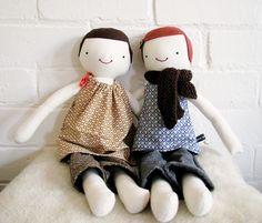 Plein de références sur T&N pour faire ses propres poupées en chiffon.