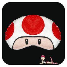 Sleep Mask Toad - Cookie Plushie