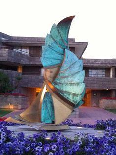 Sculpture by Frank Lloyd Wright @ Arizona Biltmore Hotel