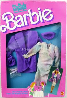 Barbie Doll City Style Fashions #4430 New Never Removed from Pack 1987 Mattel