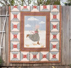 Andover Little House on the Prairie  - Prairie Life Quilt - Free pattern at Andover Quilts downloaded to iBooks
