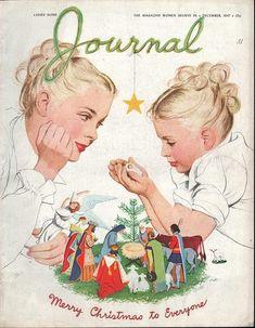 Vintage Christmas Magazine ~ Ladies Home Journal ©December, 1947