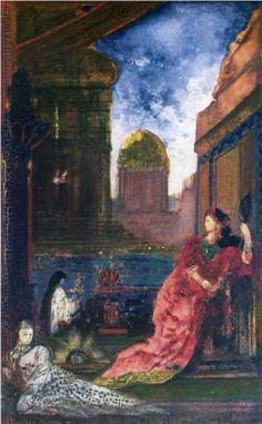 Herodias Salome - Gustave Moreau (1888)  Art Experience NYC  www.artexperiencenyc.com/social_login/?utm_source=pinterest_medium=pins_content=pinterest_pins_campaign=pinterest_initial