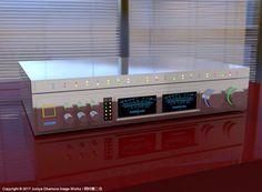 超高級ステレオ装置(3ds Max) Super high-end audio equipment by 3ds Max