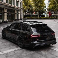 Audi with new tuning outfit ! Audi Rs6 C7, Audi Rs6 Avant, A6 Avant, Audi Wagon, Audi Cars, Audi Suv, Audi Rs6 Black, New Jaguar Car, Audi Motor