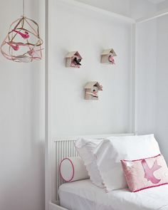 DIY idea: bird houses for kid's spaces (source: Sissy + Marley design feature on Decor8)